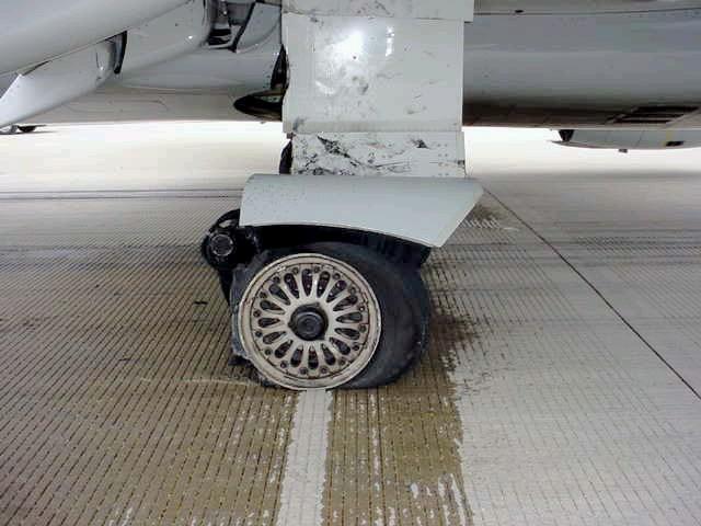 Usairways Parking Brake Set Landing