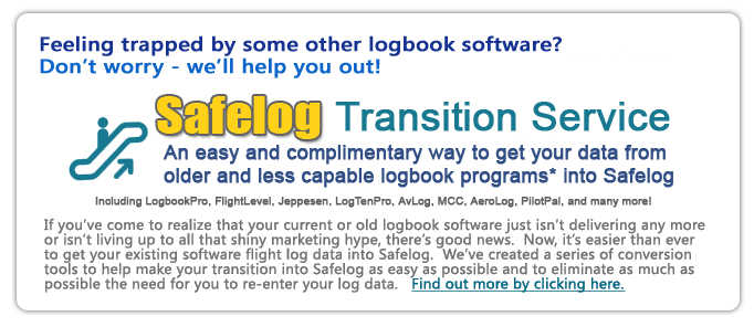 Safelog Transition