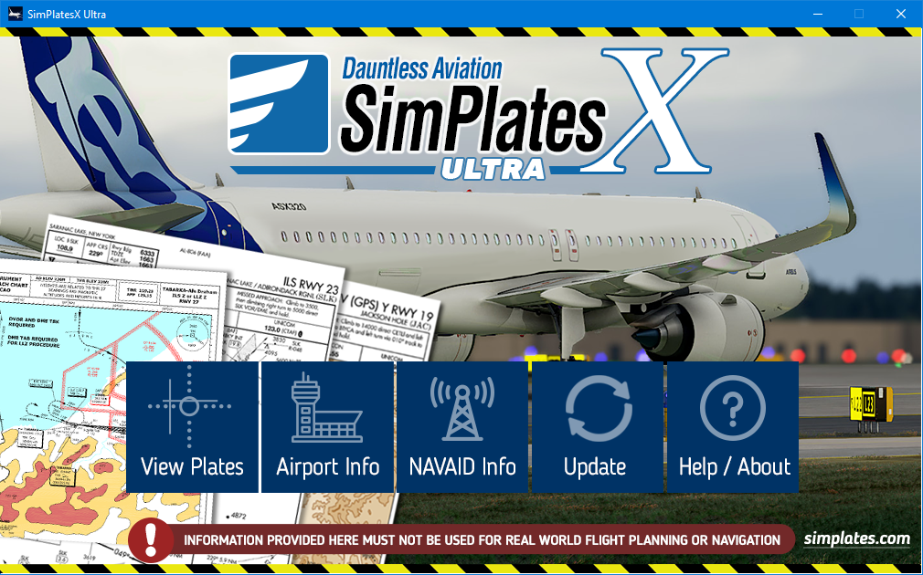 IFR approach plates for Flight Simulation - SimPlates