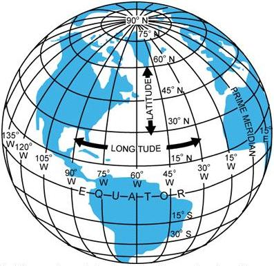 Latitude and longitude meridians and parallels noon is the time when the sun is directly above a meridian to the west of that meridian is forenoon to the east is afternoon gumiabroncs Image collections
