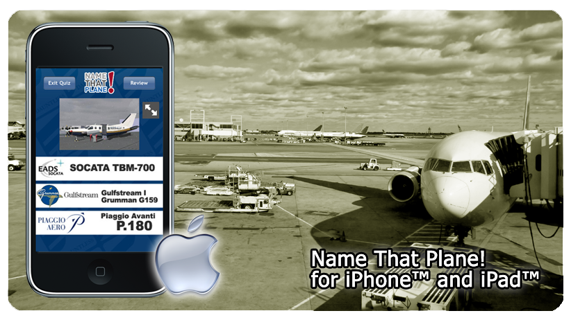 Aircraft Recognition for iPhone/iPad