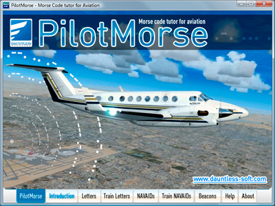 PilotMorse Morse Code Tutor for Aviation