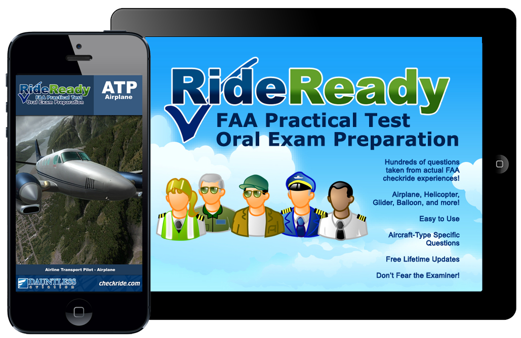 RideReady Checkride Oral Exam Prep for iPhone