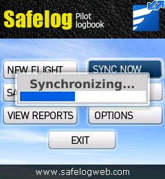 Safelog for BlackBerry screenshot
