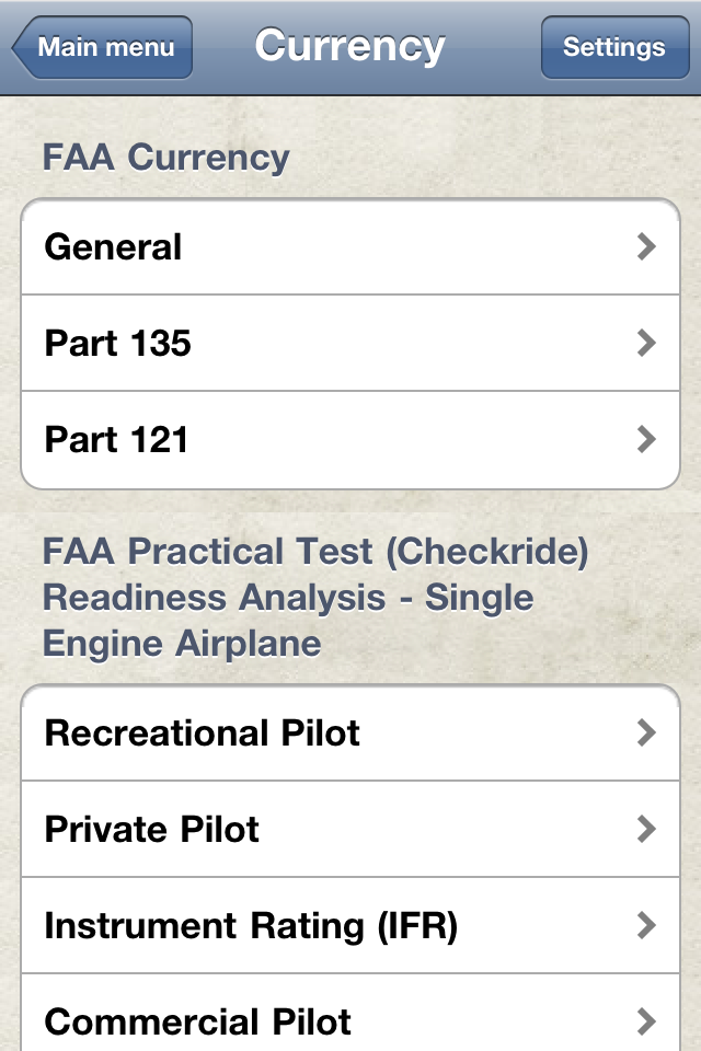 Safelog Pilot Logbook iPhone/iPad Screenshot 4