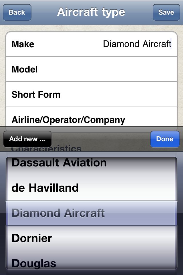 Safelog Pilot Logbook iPhone/iPad Screenshot 8