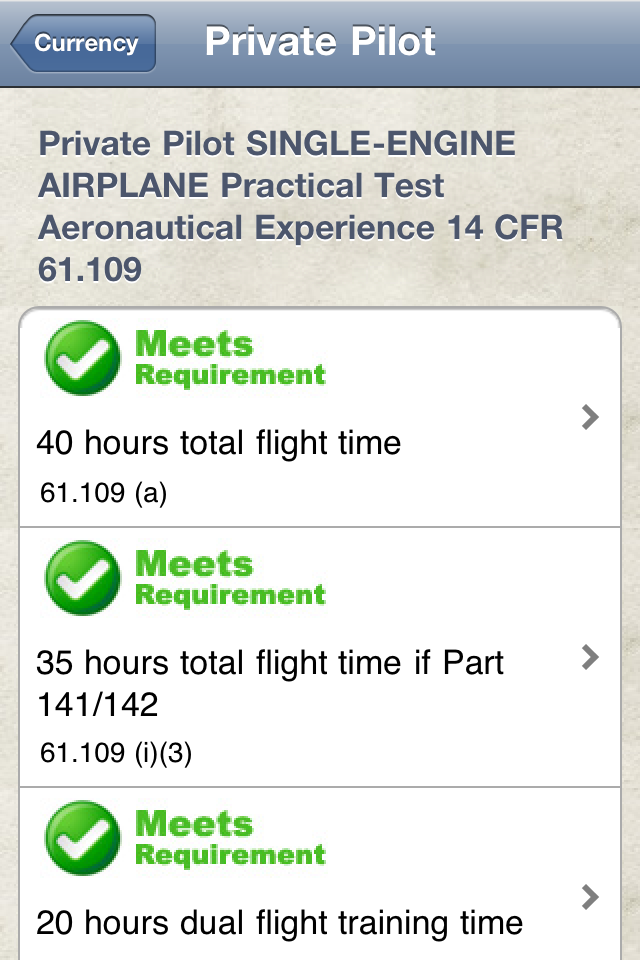 Safelog Pilot Logbook iPhone/iPad Screenshot 12