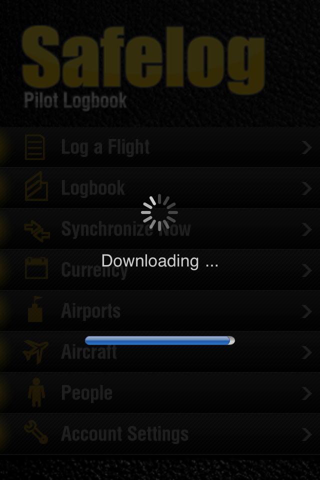 Safelog Pilot Logbook iPhone/iPad Screenshot 17