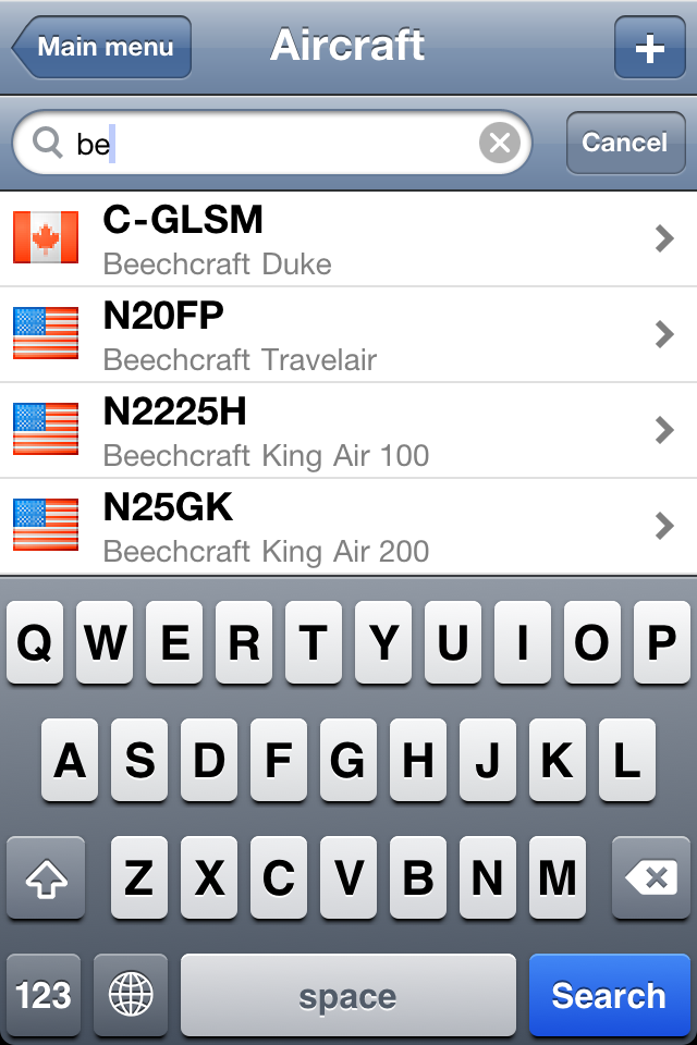 Safelog Pilot Logbook iPhone/iPad Screenshot 22