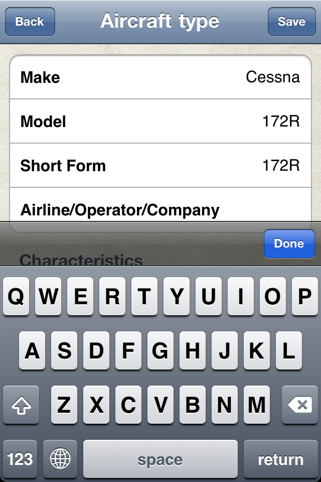Safelog Pilot Logbook iPhone/iPad Screenshot 24