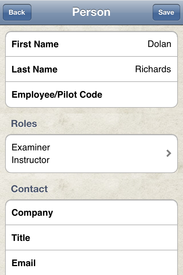 Safelog Pilot Logbook iPhone/iPad Screenshot 26