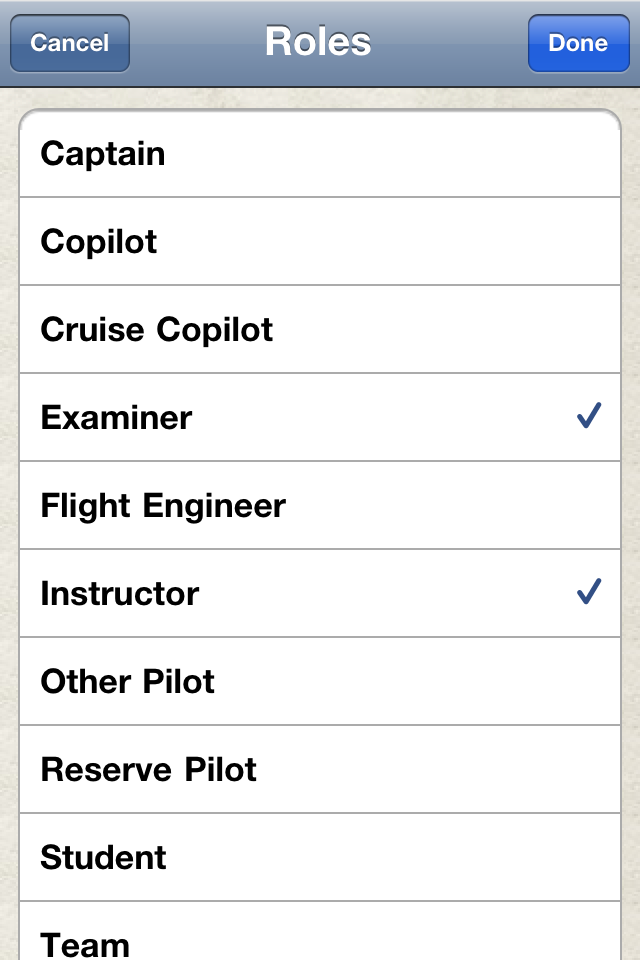 Safelog Pilot Logbook iPhone/iPad Screenshot 27