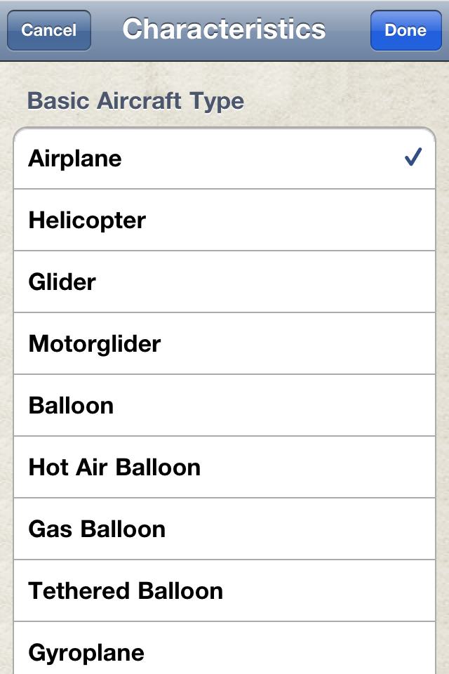 Safelog Pilot Logbook iPhone/iPad Screenshot 28