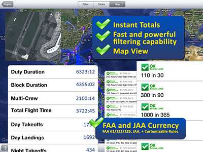 Safelog Pilot Logbook iPhone/iPad Screenshot 3