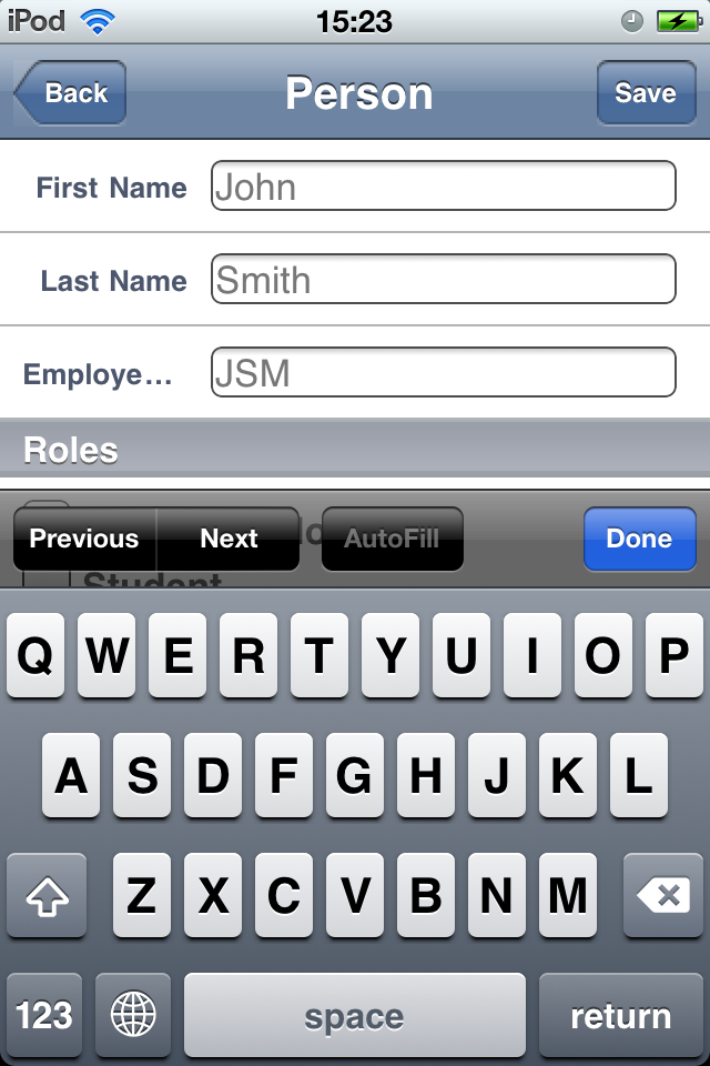 Safelog Pilot Logbook iPhone/iPad Web Portal Screenshot 7