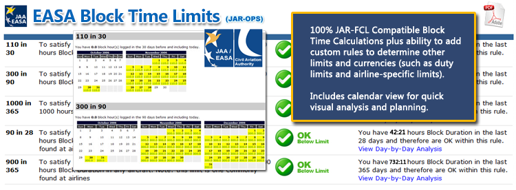 Safelog FAA and EASA Pilot Logbook System